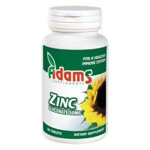 Zinc 50mg 60 tablete Adams Vision