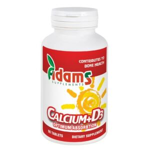 Calciu + Vitamina D3 90tab. Adams Vision
