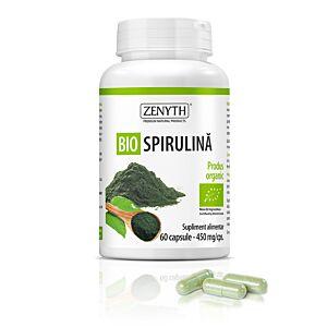 Bio Spirulină, 60 capsule,450 mg