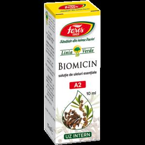 Biomicin, A2, soluție 10ml Fares