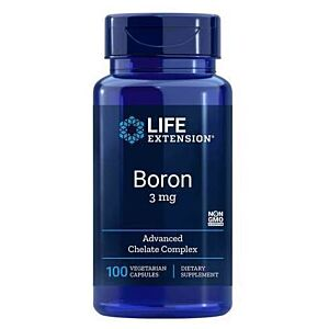 Bor, 100 capsule, 3mg Life Extension