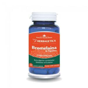 Bromelaina&Papaina 30 capsule-Herbagetica