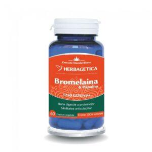 Bromelaina&Papaina 60 capsule-Herbagertica