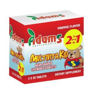 Pachet MultivitaKid 30tablete masticabile Adams Vision