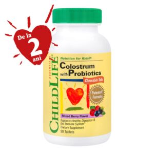 Colostrum with Probiotics Chewable Tabs 90 tablete Secom
