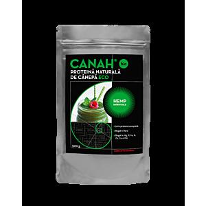 Pudră proteică ECO de cânepă 500 g Canah