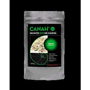Semințe decorticate de cânepă ECO 500 g Canah