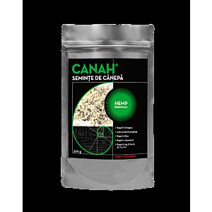 Semințe decorticate de cânepă 300 g Canah