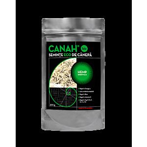 Semințe decorticate de cânepă ECO 300 g Canah