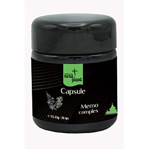 Capsule Memo Complex Eco 30cps Nera Plant