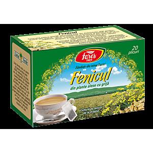 Fenicul, D159, ceai 20plicuri Fares
