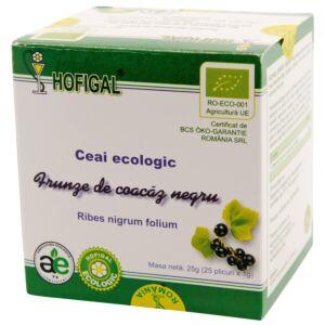 Ceai Ecologic - Frunze de Coacaz Negru Hofigal