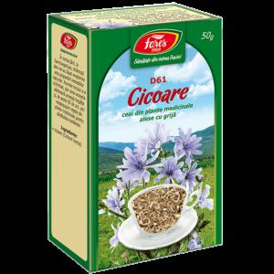 Cicoare, iarbă, D61, ceai la pungă 50g Fares