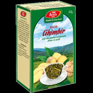 Ghimbir, rădăcină, D135, ceai la pungă 50g Fares