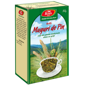 Pin, muguri, R45, ceai la pungă 50g Fares