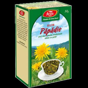 Păpădie, frunze, D126, ceai la pungă 50g Fares
