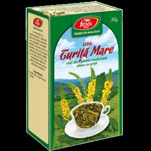 Turiță mare, iarbă, U96, ceai pungă 50g Fares