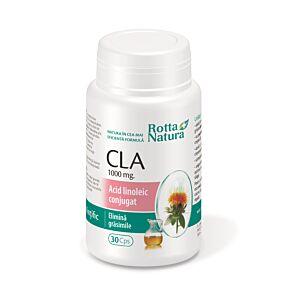 CLA Acid linoleic conjugat 30cps Rotta Natura
