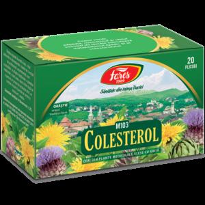 Colesterol, M103, ceai 20 plicuri Fares