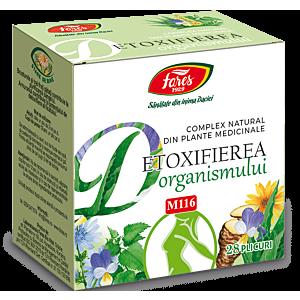 Detoxifierea organismului, M116,28plicuri Fares