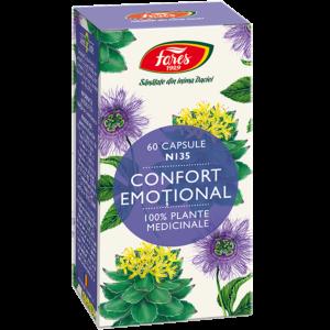 Confort emoțional, N135, capsule 60cps Fares