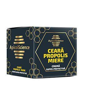 Crema super protectiva cu ceara propolis si miere