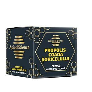 Crema superprotectiva cu propolis si coada soricelului Apicol Sc