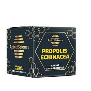 Crema super protectiva cu propolis si echinacea Apicol Science