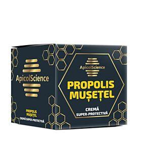 Crema super protectiva cu propolis si musetel Apicol Science