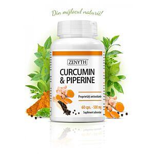 Curcumin & Piperine, 60 capsule