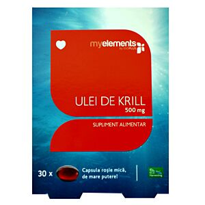 KRILL OMEGA 3 500MG 30CPS