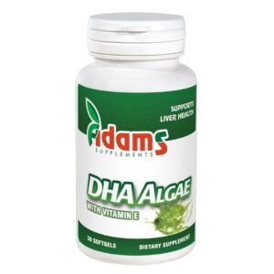 DHA Algae 200mg 30cps. Adams Vision