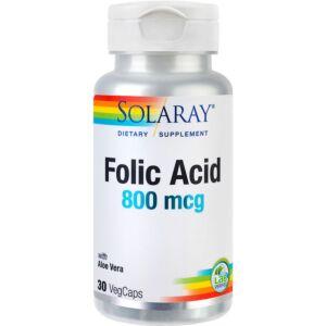 Folic Acid 800mcg 30 capsule Secom
