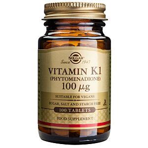 VITAMIN K1 100MCG 100TABLETE