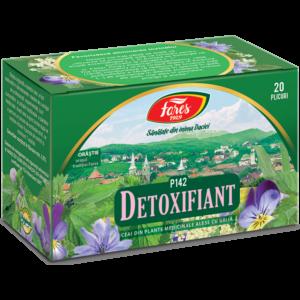 Detoxifiant, P142,20plicuri ceai  Fares