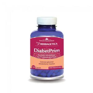 DiabetPrim 120cps Herbagetica