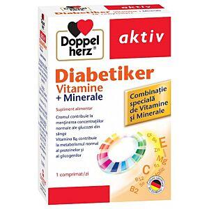 Diabetiker Vitamine și Minerale, 30 comprimate Doppelherz