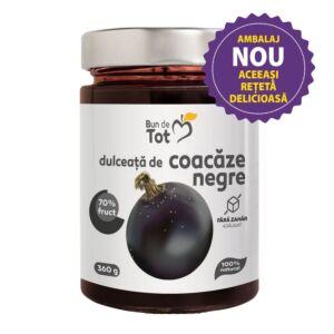 Bun de Tot Coacaze Negre dulceata fara zahar - 360g Dacia Plant