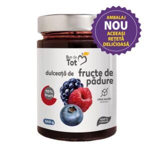 Bun de Tot Fructe de Padure dulceata fara zahar - 360g Dacia Plant