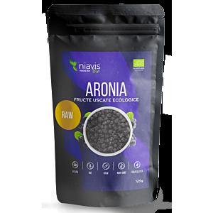 Aronia fructe uscate Ecologice 125g-Niavis
