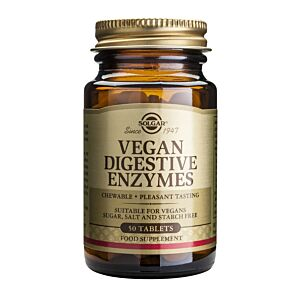VEGAN DIGESTIVE ENZYMES 50 TABLETE