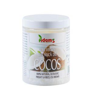 Ulei de Cocos BIO Virgin, presat la rece 1000ml Adams Vision