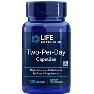Two-Per-Day Capsule, 120 Capsule Life Extension