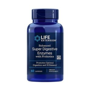 Super Digestive Enzymes with Probiotics 60 caps. - Life Extension