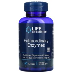 Extraordinary Enzymes 60 capsule - Life Extension