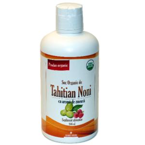 Tahitian Noni Suc cu aroma de Zmeura 946ml Adams Vision