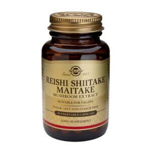 Extract de ciuperci Reishi Shiitake Maitake -50 capsule-SOLGAR