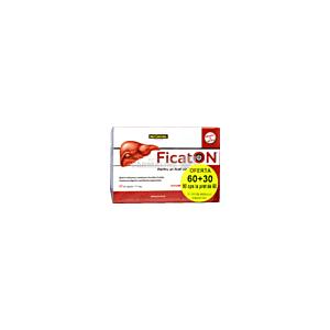 Ficaton Pachet 60 capsule+30 capsule Only Natural