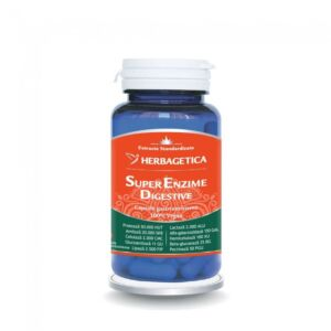 Super Enzime Digestive 60cps Herbagetica