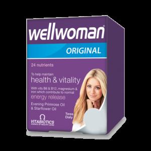 Wellwoman Original Capsule Vitabiotic
